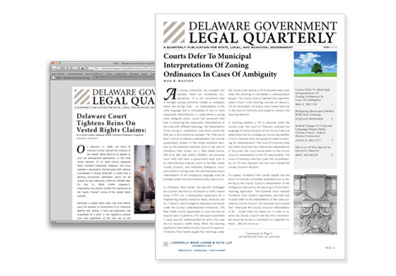 Online Quarterly Publication